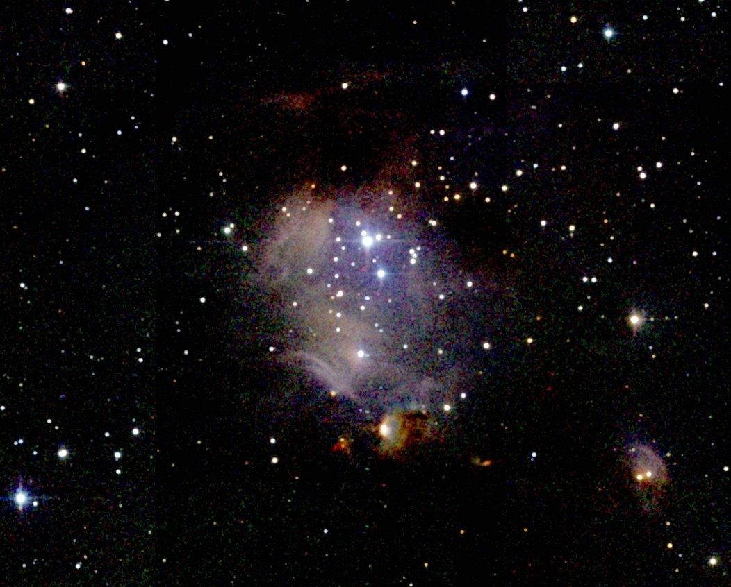M78 | Orion constellation, Look at the sky, Diffuse reflection