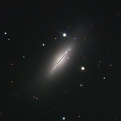 [M102/NGC 5866, Chris & Dawn Schur]
