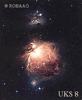 [Orion Nebula region, UKS 8]