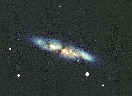 the magnificent starburst galaxy - photo #37