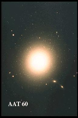 [M87, AAT 60, old scan]