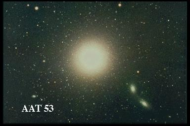 [M87, AAT 53, old scan]