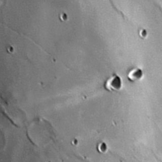[Moon crater Messier, A. Cidadao]